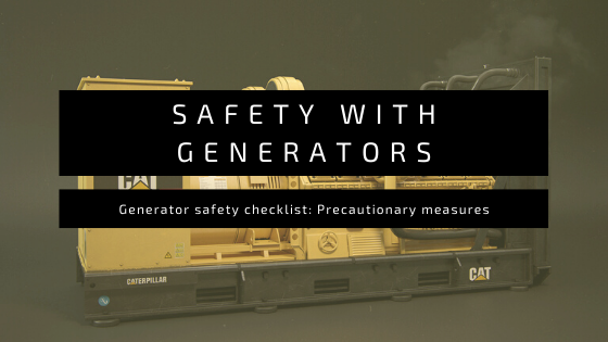 safety with generators