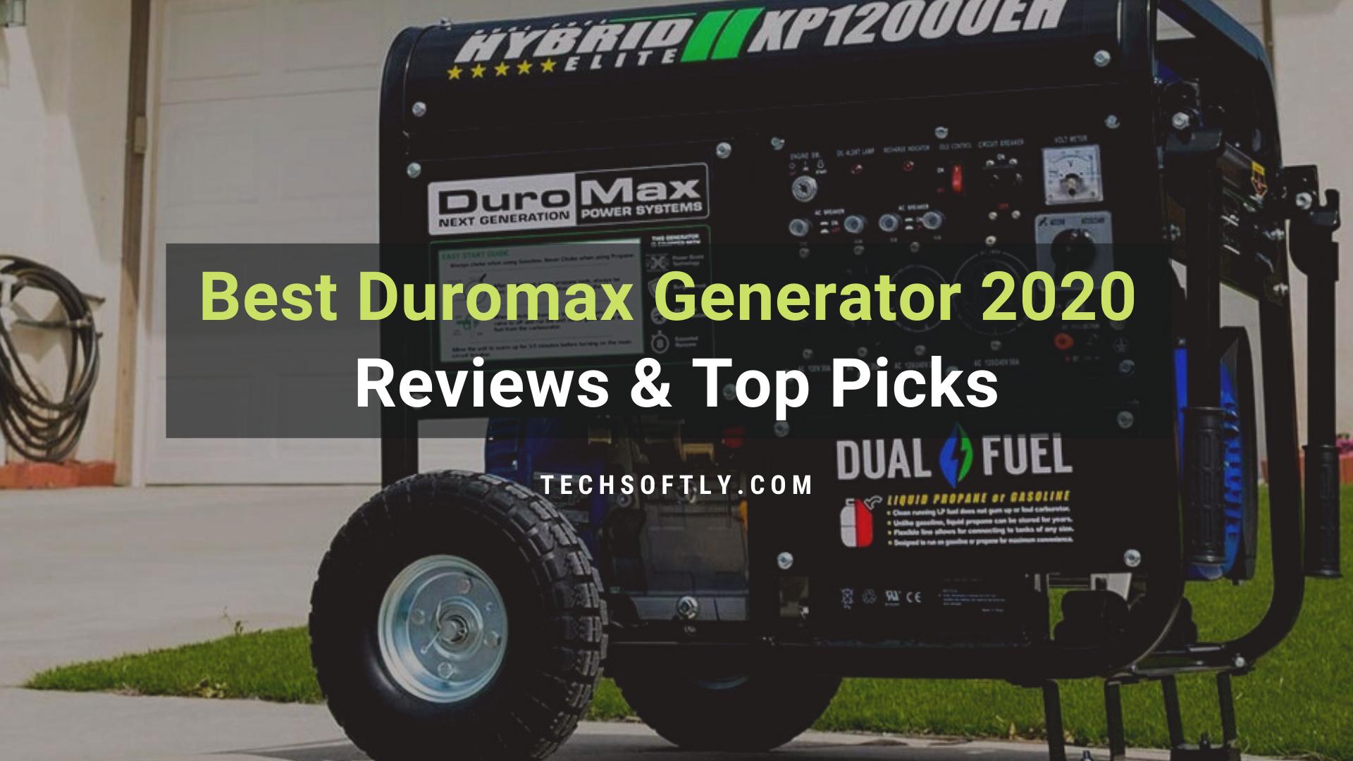 Top Duromax Generator